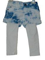 Girls Denim Shorts with legging set