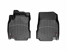 WeatherTech FloorLiner for Nissan Cube - 2009-2014 - 1st Row - Black