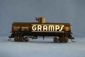 HOn3 BLACKSTONE MODELS GRAMPS #55297 FRAMELESS TANK CAR - BRAND NEW