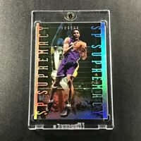 KOBE BRYANT 1999 SP AUTHENTIC #S8 SUPREMACY HOLOFOIL REFRACTOR INSERT LAKERS NBA