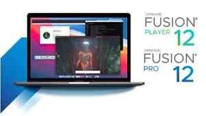 vmWare Fusion 12 Pro - LIFETIME - Fast Delivery