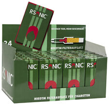 6 Packungen a 30 Stück Rsonic  Zigarettenfilter Zigaretten Filter GRN