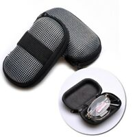 Mini Glasses Case Folding Eyeglass Pouch Creative Eyewear Protector Zipper Style