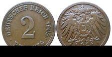 J 11   2 Pfennig Kaiserreich 1905 A in VZ+  502866