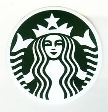 Starbucks Coffee logo 8 cm suitcase box luggage laptop decal sticker 1718