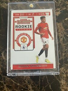 2019-20 Panini Chronicles Soccer MASON GREENWOOD Contenders Rookie Ticket RC