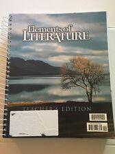BJU Press Elements of Literature Teacher's Edition 182840 10th Grade Demo Copy
