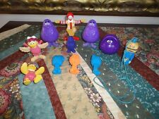 Ronald McDonald Grimace Birdie Fry Guys Officer Big Mac Collectible 11 Toys Lot