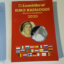 Leuchturm EURO Katalogus 2020 - munten en bankbiljetten