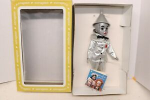 Vintage Effanbee Tin Man Doll #1157 Wizard Of Oz Collection In Box Blinking Eye