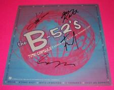 THE B-52'S SIGNED TIME CAPSULE PROMO FLAT EXACT PROOF