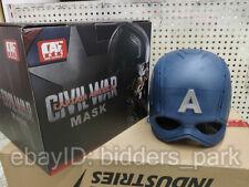 Cattoys 1:1 Captain America WEARABLE Helmet Replica Prop