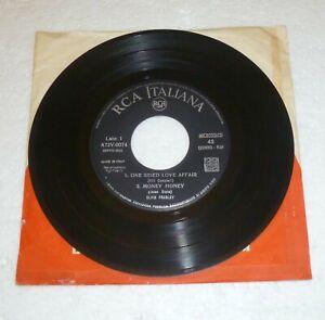 "ELVIS PRESLEY ROCK'N'ROLL RCA  Italiana A72V 0074 45 giri 7"" EP made in  Italy"