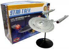 Star Trek Romando USS Enterprise NCC-1701 Firing Warp Secret Diplay Model S390