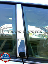 fit:1991-1993 Chrysler Imperial Coupe 2Pc Pillar Post Stainless Steel Trim