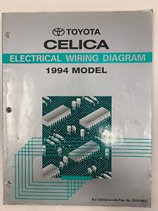 Service Repair Manuals For Toyota Celica For Sale Ebay