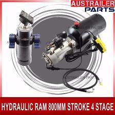 Hydraulic Ram Trailer Kit 4 Ton with 12V Pump Heavy Duty