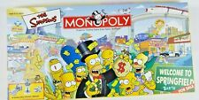 Monopoly The Simpsons edition Monopoly board game Hasbro Parker Bros