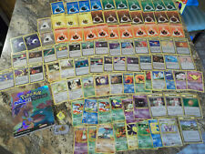 Lot of 70 Pokemon Cards, 18 Pocket Monsters Cards, Trainer's Guide Book, Ninte..