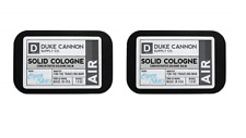 Duke Cannon Men's Solid Cologne, Air for the Traveling Man, Open Skies (2 Pack)