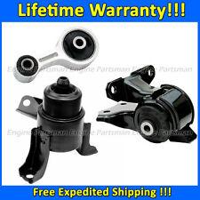 2078 Engine Motor Mount Set for 2003-2008 Mazda 6 i Sedan 2.3L w/ AUTO Trans.