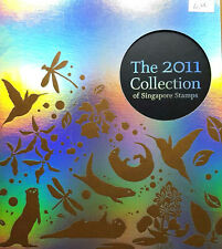 2011 The Collection Of Singapore Stamps ( 66 pcs different type)  #S1142