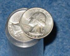 1942-P Washington Quarter XF-AU Roll Of 40 coins B7442