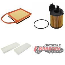 FilterSet (M): 1x Ölfilter, 1x Luftfilter, 1x Innenraumfilter