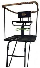 Tree Stand Deer Hunt Swivel Chair Platform Climber Steel Big Game Hunting Ladder