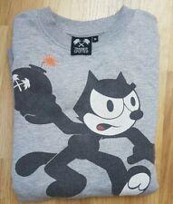 Vintage Trainer Spotter grey Felix the Cat printed logo sweatshirt size Small