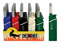 1 Crocs Handy Lighters LONG REACH Nozzle Candle Lighters  Mixed Colors