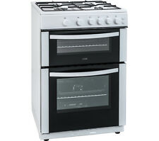 LOGIK LFTG60W16 60 cm Gas Cooker - White