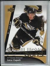 Luca Caputi 09/10 Upper Deck Young Guns UD Exclusives Rookie #13/100