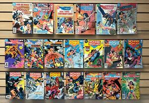 WONDER WOMAN #288 to #329 DC comic books..20 Issues from 1980's...ONLY $19.95!