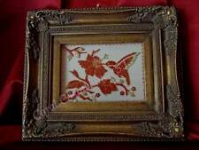 Hummingbird, art, sculpture 2d natural red coral mediterranean, quadri corallo
