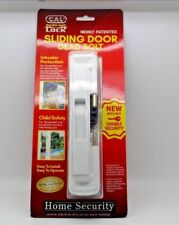 CAL DOUBLE BOLT SLIDING GLASS DOOR LOCK-WHITE