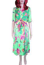 Crew Neck Chiffon Short Sleeve Maxi Dresses for Women
