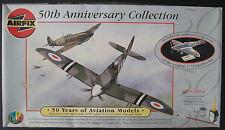 AIRFIX Set 91002 - Spitfire F22/24 1:48 + Mk1a 1:72 -Flugzeug Bausatz - Kit
