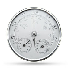 Wall Hanging Weather Forecast Thermometer Hygrometer Air Pressure Meter-30~+50℃