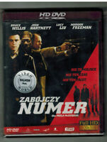 Luck Number Slevin HD DVD Polish Best Film Release Rare Import HDDVD