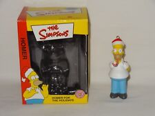 The Simpsons Christmas Ornament Homer w/Candy Cane 2003 American Greetings Co.