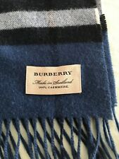 Burberry Schal 100% Cashmere /made in Scotland