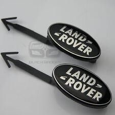 Range Rover Sport Supercharged insignia de la puerta interior Flecha Negra insignias Par Set