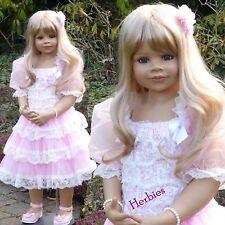 Masterpiece Dolls Jillian, Blonde Hair, 39 inches, Ball-jointed, Full Vinyl Do