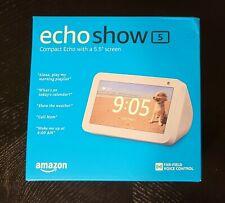 Echo Show 5 Smart Display Speaker with Alexa (Sandstone) SAME-DAY PRIORITY SHIP