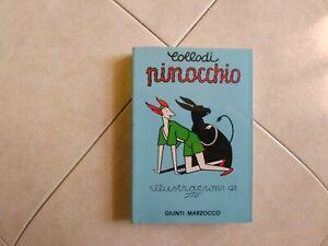 """Collodi """"Pinocchio""""  illustrato da Sto (Sergio Tofano)  Ed. Giunti Marzocco 1981"""