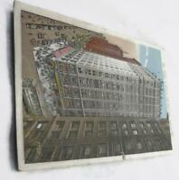 Vintage Chicago Postcard - Corner of Monroe and State Streets