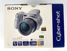 Sony Cyber-shot DSC-H7 8.1MP Digital Camera - Black