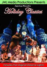 Walt Disney World Holiday DVD, Country Bear Christmas, Vintage Osborne Lights
