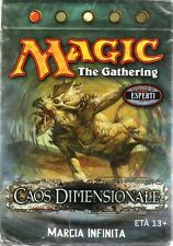 MTG MAGIC Caos Dimensionale Mazzo Marcia Infinita ITALIANO NEW MINT